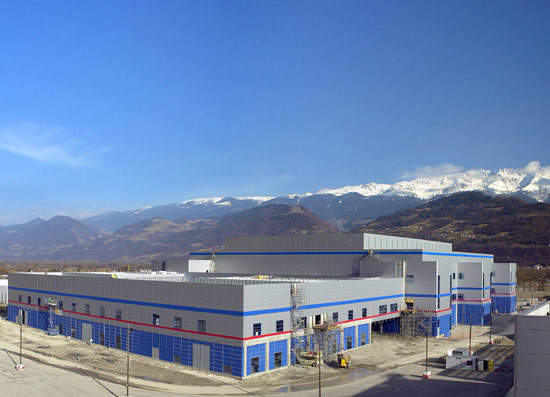 The Crolles research facility is located at Grenoble, France.