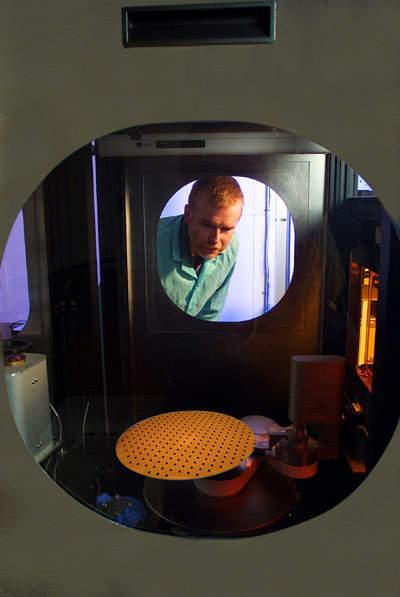 IBM's 300mm wafer fab at East Fishkill, NY.