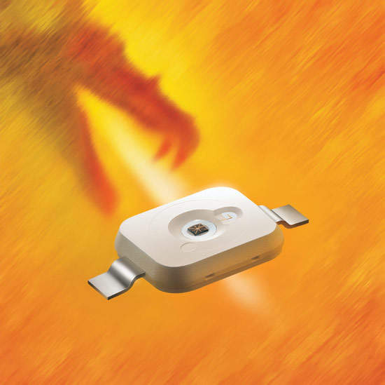 Osram Opto Semiconductors supplies compact 1W 'Golden Dragon' LEDs.