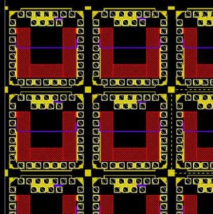 Modular test chip developed at IMEC.