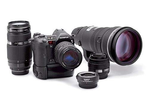 Olympus is perhaps best known for its cameras. In 2003, it introduced the E-System SLR digital camera system.