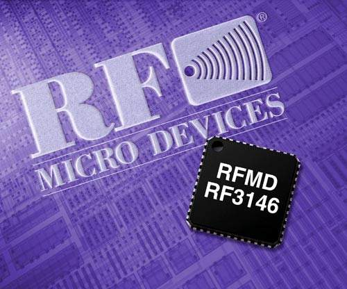 RFMD's PowerStar™ GSM power amplifier modules have integrated power control and are manufactured in the company's GaAs HBT fabs.