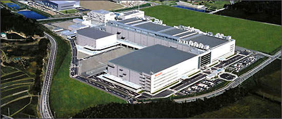 Sharp's Kameyama Mie Plant No. 3, which produces LCD panels through to the TVs that incorporate them.