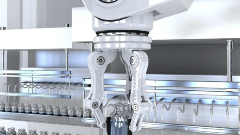 Cleanroom robot